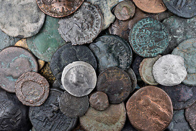 FORVM Lot of 53 Ancient Coins - Roman Imperial Roman Provincial and Byzantine