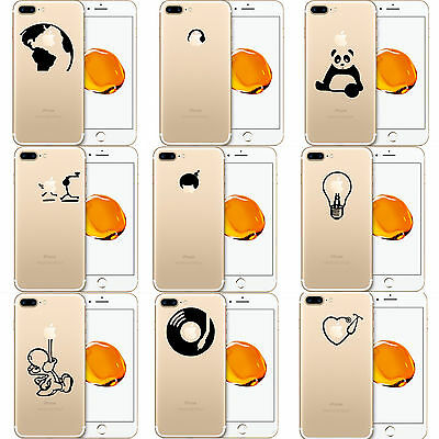 Die Cut Vinyl Sticker Decal for all Apple iPhone models and iPhone X