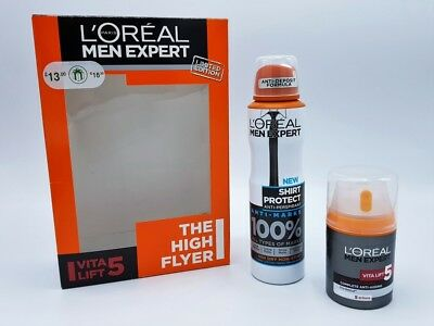 Loreal Men Expert Vita Lift 5 Limited Edition Faltencreme 50ml + Deodorant 150ml
