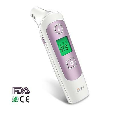 TUMAMA Baby Ear and Forehead Infrared Thermometer, Digital Medical Infrared Ther