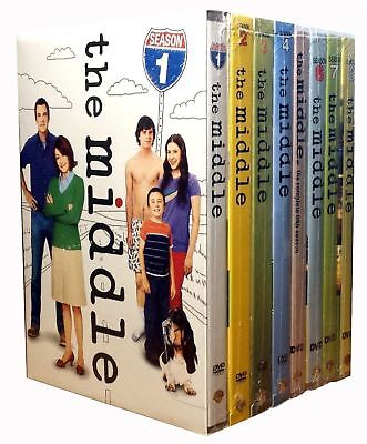 The Middle Complete TV Series All Seasons 1-8 DVD Set Collection Episodes Bundle