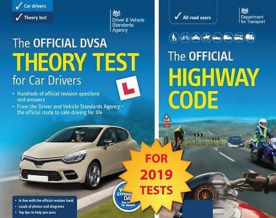 Official DVSA Theory Test Car Drivers Highway Code Book DSA Latest Edition 2018