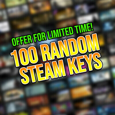 100 Random Steam Keys