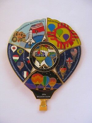 AIBF 2004 Official Event Puzzle with 6 pins Hot Air Balloon Pin!!