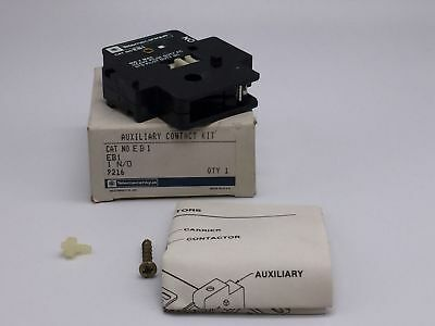 New Telemecanique Auxiliary Contact 600V, 1N/o Pn# Eb1