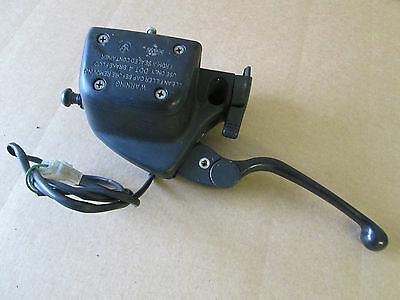 BMW R1150RT 2004 46,696 miles clutch lever with master cylinder