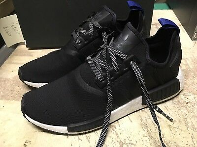 buy cheap cfb59 02a8a USED ADIDAS ADIDAS NMD R1 NOMAD BLUE TAB Running Trainers S31515 RUN SZ 10.5