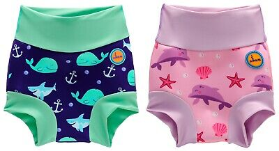 Baby Swimming Nappy Kids Reusable Swim Diaper Girls Costume Boys Swimshorts