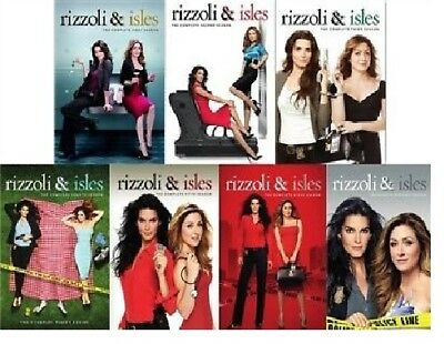 Rizzoli & Isles TV Series Complete All Seasons 1-7 DVD Set Collection Episode R1