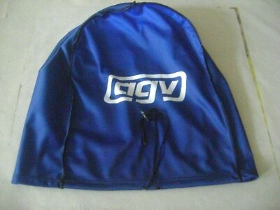 Motorcycle Helmet Bag Microfiber Agv Helmet Bag Carry Helmet Duffle Blue Rossi