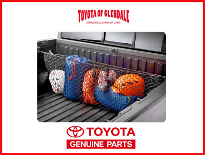 2016-2019 TOYOTA TACOMA TRUCK EXTERIOR BED CARGO NET OEM FACTORY ACCESSORY
