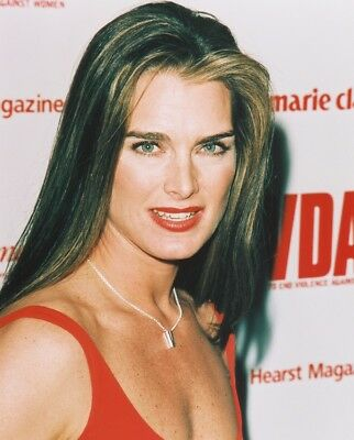 Brooke Shields Photo Print Busty Candid Color 8X10