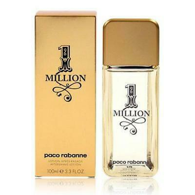 One Million After Shave Lotion-Paco Rabanne-3.4 Oz-100 Ml-Authentic-Spain