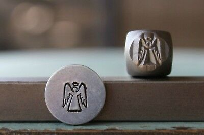 SUPPLY GUY 6mm Angel Metal Punch Design Stamp SGCH-241