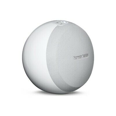 Harman Kardon Omni 10 Wireless Wi-Fi Bluetooth HD Smart Speaker - White