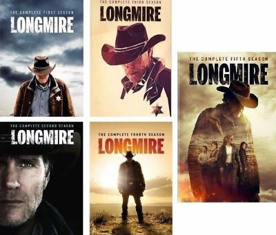Longmire The Complete All Seasons 1-5 TV Series DVD Set Collection Episodes West