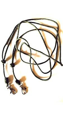 Two Standard Design Dog Whistle Lanyard - X 2 (Twin Pack- For ACME Whistle)