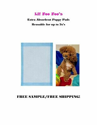 "300ct 17x24"" LOW COST Quilted Top Extra Absorbent Puppy Pads for Use up to 3x's"