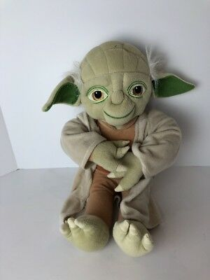 Star Wars Big Retired YODA Plush Stuffed Toy - Jay Franco & Sons Lucasfilm