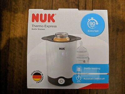 BRAND NEW -- NUK Thermo Express Bottle Warmer -- EXPRESS POST