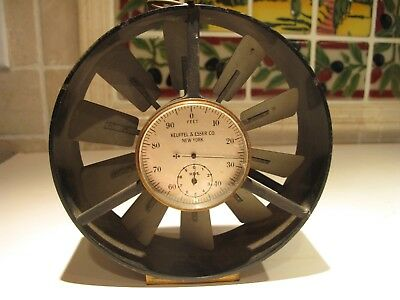 Vintage Keuffel And Esser Air Flow Gauge,1920's Extremely Rare