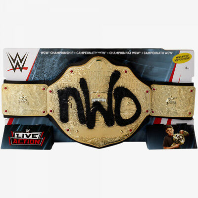 WWE WCW Championship Belt NWO FLB15 (Genuine Mattel) NEW
