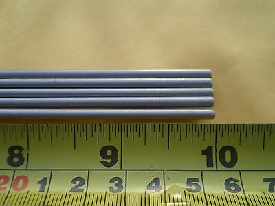 "5 Pcs. Stainless Steel Round Rod 304, 1/8"" (.125"") (3.24Mm.) X 10"" Long"