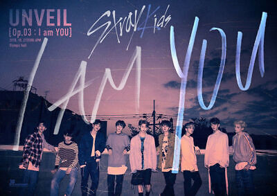 STRAY KIDS [I AM YOU] Mini Album 2 Ver SET 2CD+POSTER+2Book+6Card+Pre-Order+GIFT