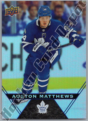 2018-19 UPPER DECK TIM HORTONS - AUSTON MATTHEWS Card # 34 Toronto Maple Leafs