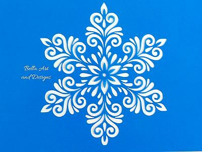 List 5 -  Assorted Christmas stencils **Free gift with every order**
