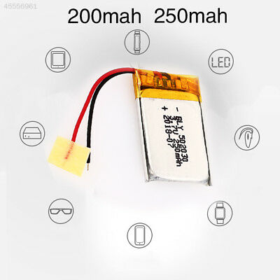 3.7V 200/250mAh 502030 Replacement Universal 502030 Battery Pack