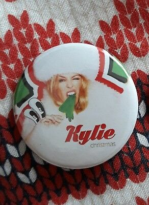 ♡Kylie♡ Christmas Royal Albert Hall ☆Rare Badge☆ From 2016