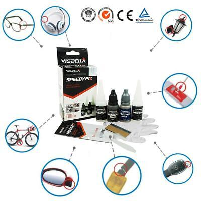 7 Second Quick Bonding Speedy Fix Repair Strong Powder Adhesive Glue Kit Set DE