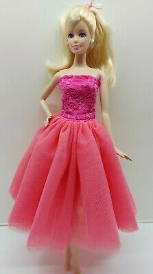 New Barbie doll clothes outfit wedding ball gown dress rainbow shoes au seller