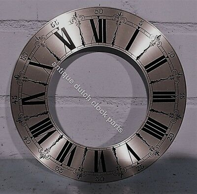 Replacement Dial Chapter Ring For Grandfather Clock  8 2/8&Quot;/ 21 Cm