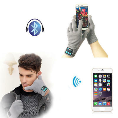 Warm Knit Gloves Touch Screen Winter Hand Bluetooth Wireless Smartphone MP3 Play