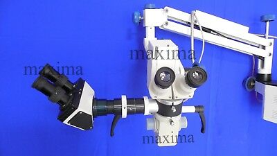New LED Surgical Microscope With Binocular Assistance Scope