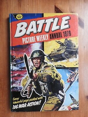 Battle Picture Weekly Annual 1979 - VG+