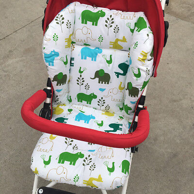 Liner Car Seat Pad Padding Pram Cartoon Animal Print Baby Kids Stroller Cushion