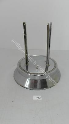 Part For Bulle Electrique 800 Jours Clock; Chrome Stand For Dome