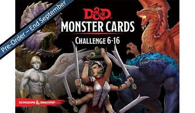 C62830000 D&D Spellbook Cards: Monsters 6-16 - DUNGEONS & DRAGONS - PRE ORDER