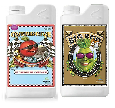 Advanced Nutrients Big Bud Coco And Overdrive 250ML 1L Hydroponic Nutrients