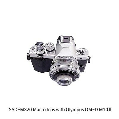Macro Lens For Olympus OM-D M1,M5,M10 Series with 14-42mm lens