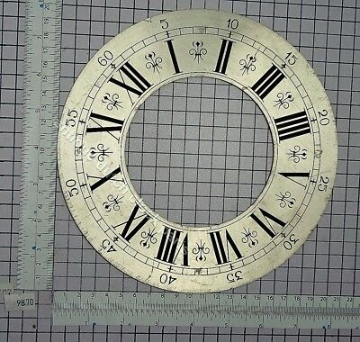 """LARGE DIAL OR CHAPTER RING GRANDFATHER CLOCK 8 1/16""""or 20,5 cm wide"""