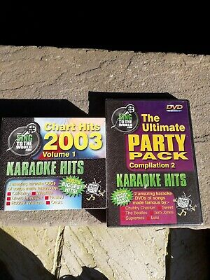 Karaoke Hits 8 discs the ultimate party pack