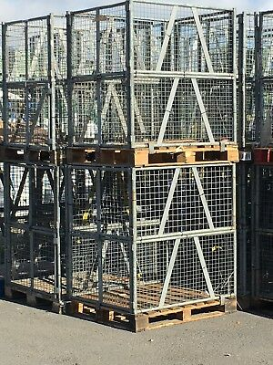 Wire Mesh stillage, steel pallet, lifting cage, containers, baskets