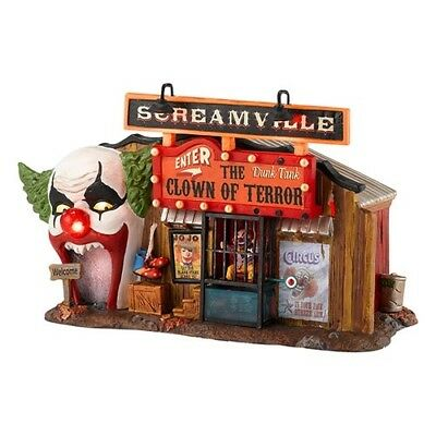 Department 56 Halloween The Clown House Of Terror 4030759 New In Box Retired