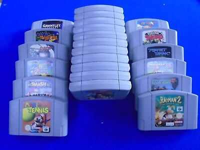 N64 **ACTION ADVENTURE GAMES Cartridge Only - Make Your Selection PAL UK GENUINE