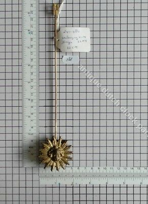 Sun Pendulum For Dutch Sallandse Wall Clock 241-*** 32 Cm