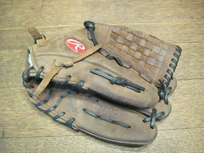 """RAWLINGS SL125BF 12.5"""" Sandlot Pro Design Right Hand Thrower Leather Glove"""